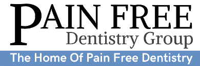 Pain free dentistry group logo